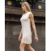 Вязаное трикотажное платье Каприз