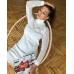 Вязаное трикотажное платье Эдита