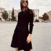 Вязаное трикотажное платье Мари