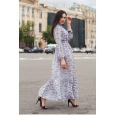Платье длинное из шифона Рассвет