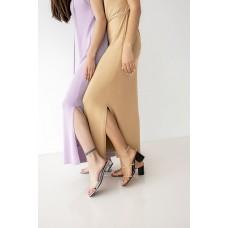 Вязаное трикотажное платье Аделина